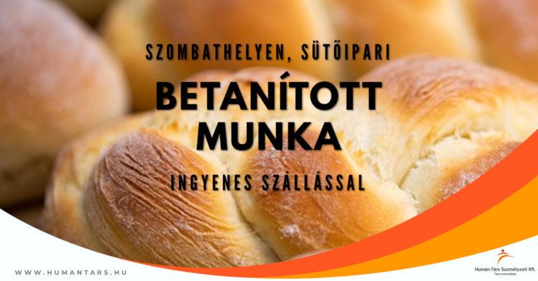 Copy of Betanított munka Szombathely fb ad - 2 műszak - humántárs; humantars
